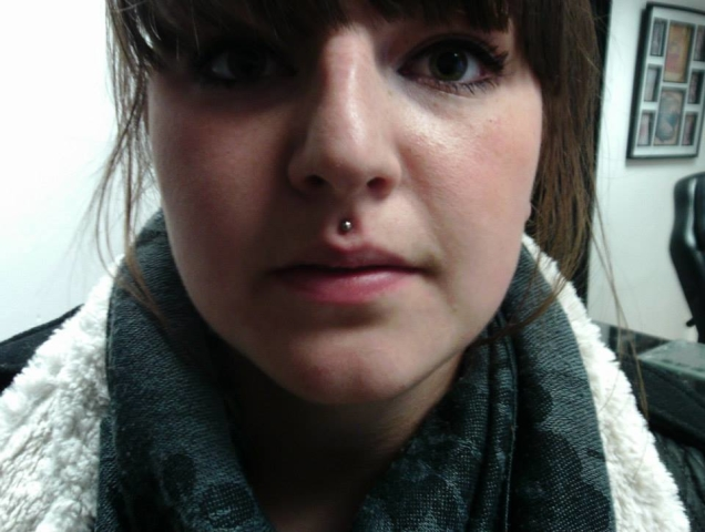 Piercing, Madusa, Lip