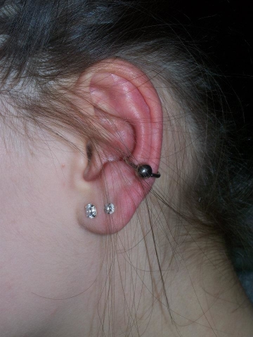 Piercing, Conch, Ear, Lobe