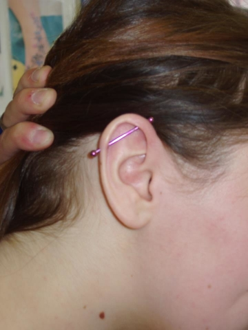 Piercing, Scaffold, Ear