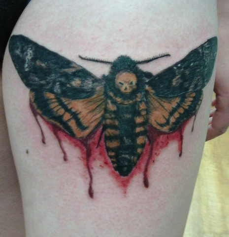 Tattoo, Colour, Silence of the Lambs, Wasp, Blood, Icon, Film, Realism, Insect
