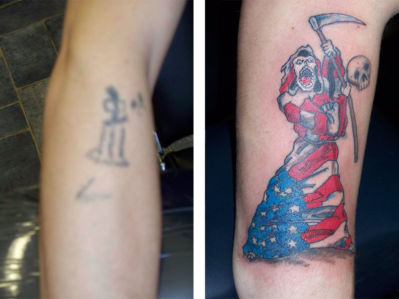 Cover Up, Before, After, Grim Reaper, American
